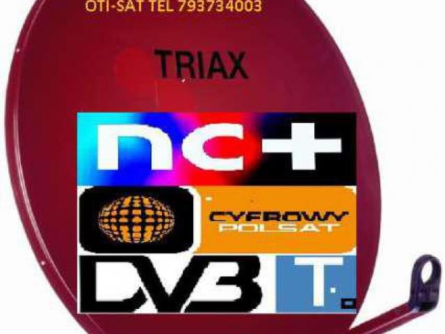 Brzeg Grodków Nysa montaż anten satelitarnych tel 793734003