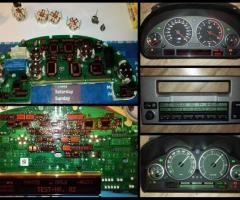 Naprawy pixeli licznika/ radio/ klimatyzacja BMW